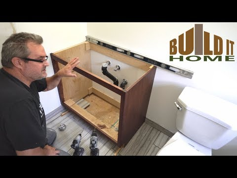 Installing The Bathroom Vanity