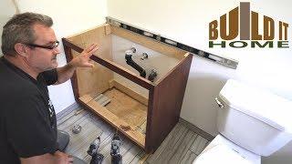 Installing The Bathroom Vanity
