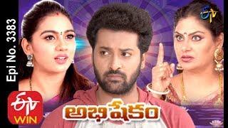 Abhishekam   18th November 2019    Full Episode No 3383   ETV Telugu
