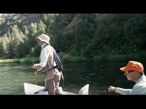 How To Fish a Streamer from a Boat - RIO Fly Fishing Products