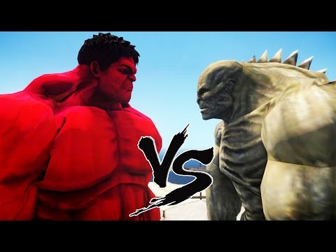 RED HULK VS ABOMINATION - EPIC BATTLE