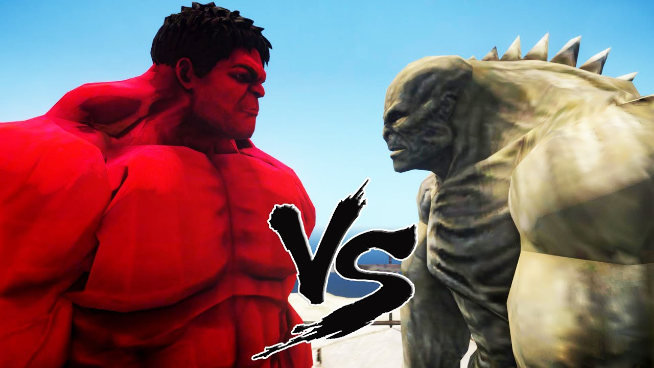 Red hulk vs abomination epic battle youtube - Pictures of red hulk ...