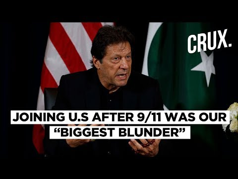 Imran Khan Says Pakistan Committed 'Blunder' by Joining US War On Terror After 9/11