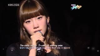 100219. KBS Music Bank - You Raise Me Up