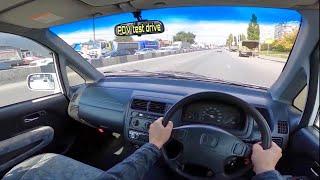 2001 Honda Capa 1.5 (вариатор) кей кар POV Test Drive