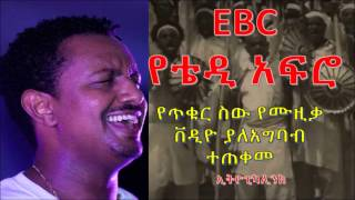 Ethiopian TV used Teddy Afro'sTikur sew music video for Adwa Victory Celebration program without giv