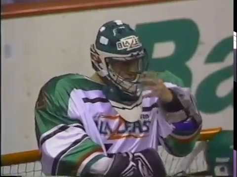 NLL MILL Era 1993 Philadelphia Wings @ Boston Blazers
