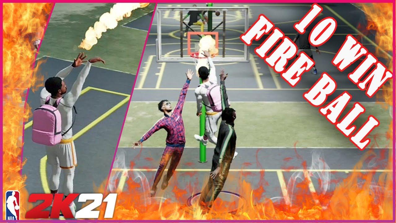 PS5 NEXT GEN NBA2K21 10 Consecutive Wins Fireball With LAMBORGHINI700LP  _ 현진