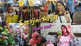 Sarojini Nagar - Diwali Shopping Under 100 Rs. ???? | Street Market Shopping Haul | Indian Mom Studio