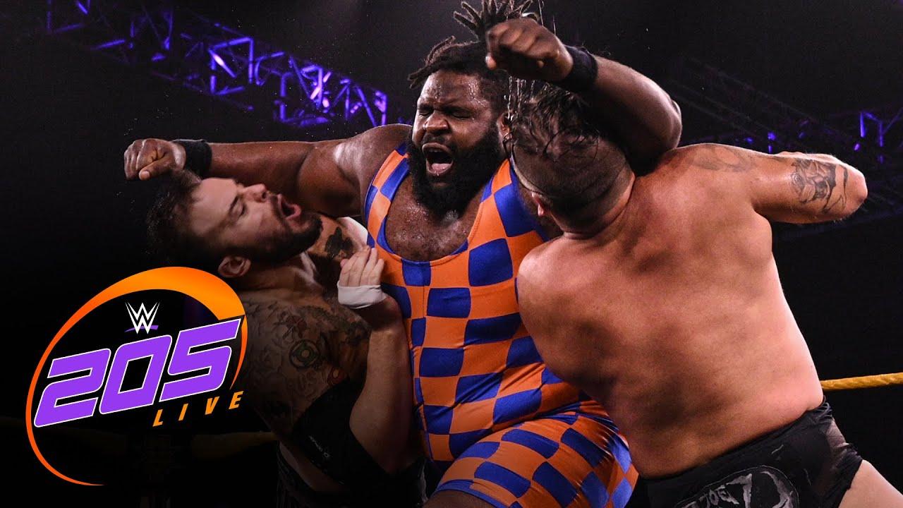 Download Odyssey Jones & Trey Baxter vs. Joe Gacy & Josh Briggs: WWE 205 Live, Sept. 10, 2021