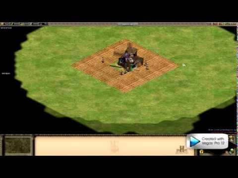 Aoe2:HD Farm creation example