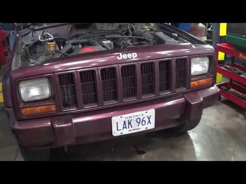 Jeep Cherokee XJ 98-2001 Diagnostico y Remplazo de Bomba de Combustible