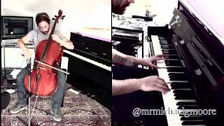 We Found Love Cello and Piano Cover by Michael G Moore