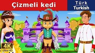 Çizmeli Kedi - Peri Masalları - Çocuklar İçin Uyku Masalları - 4K UHD - Turkish Fairy Tales