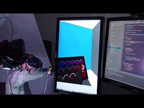 Homebrew VR Data Glove with Haptic Feedback