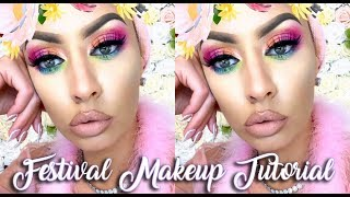 Too Faced Unicorn Makeup Slumber Party! | TymetheInfamous