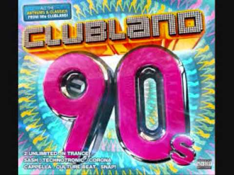 clubland 90's rhythm of the night corona