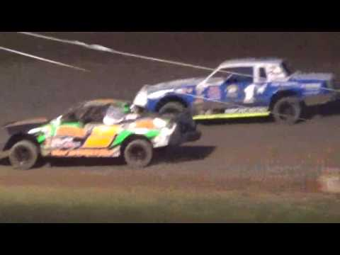 IMCA Stock Car Feature Shawano Speedway Shawano Wisconsin 8/2/17
