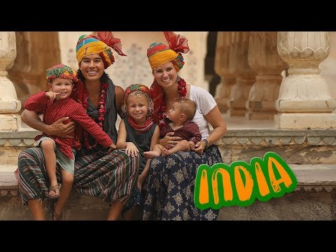 INDIA WITH KIDS? INCREDIBLE!! /// WEEK 120 : India