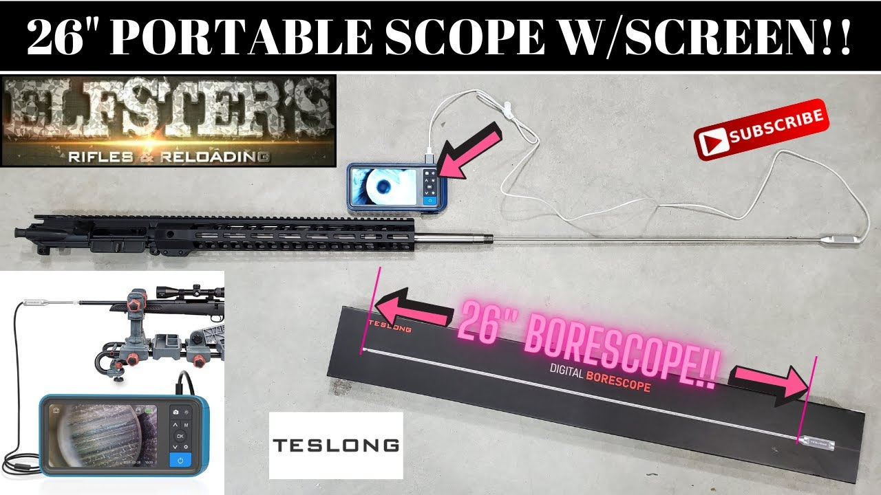 26-INCH WITH VIEW SCREEN PORTABLE TESLONG BORESCOPE