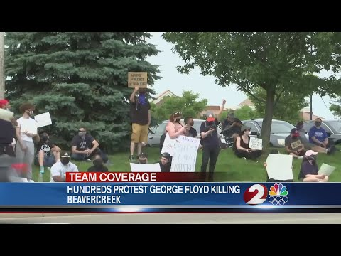 Hundreds In Beavercreek Protest Killing Of George Floyd
