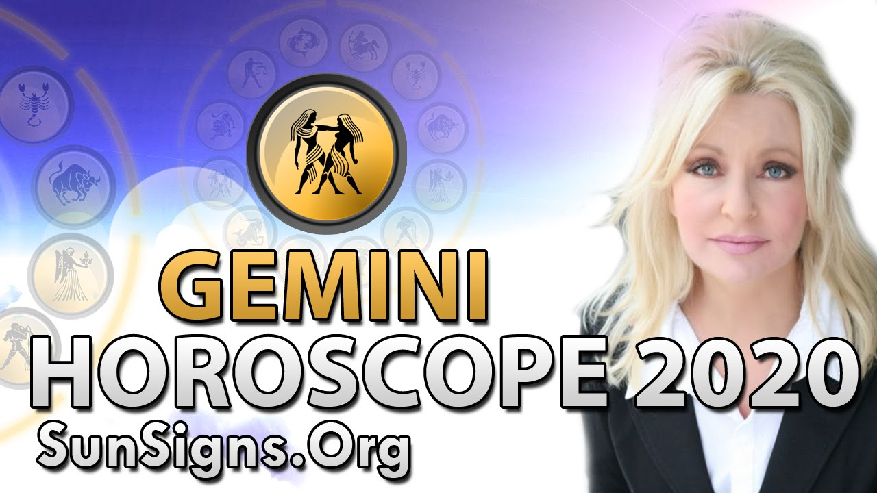 Gemini Horoscope 2020 - Get Your Predictions Now! | SunSigns Org