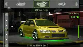 Repeat youtube video NFS Underground 2 Mitsubishi Lancer Evolution 8 tune and drift win