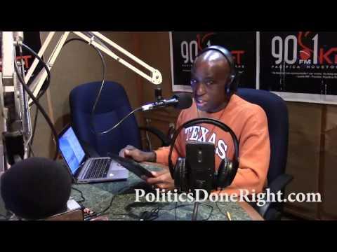Politics Done Right on KPFT - Donald Trump, the undemocratically illegitimate president