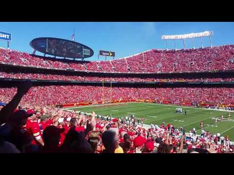 Arrowhead stadium loudest in the world