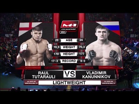 Раул Тутараули vs Владимир Канунников, M-1 Challenge 83 & Tatfight 5