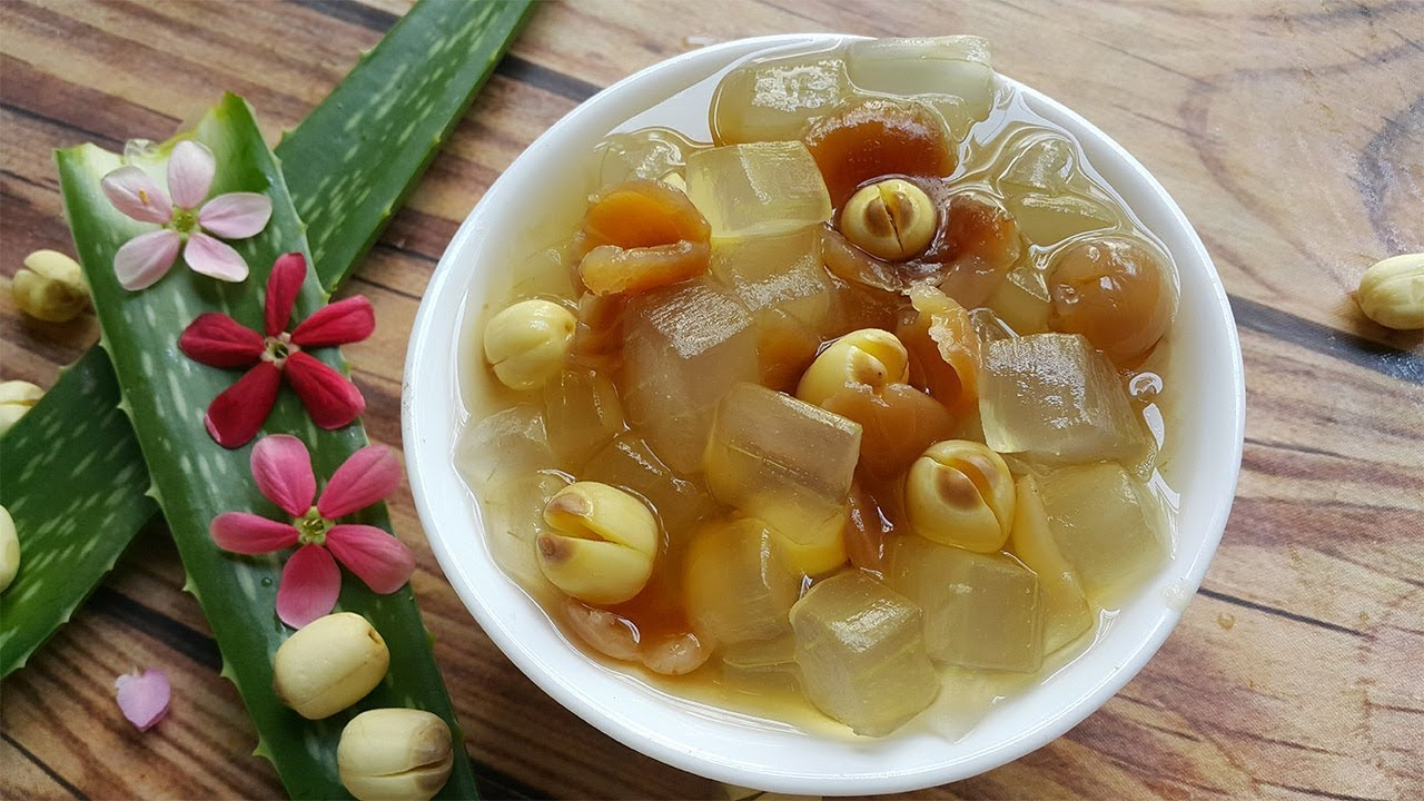 Image result for chè hạt sen