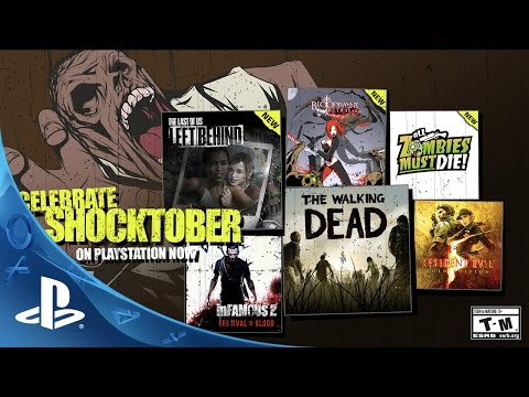 Celebrate SHOCKTOBER on PlayStation Now