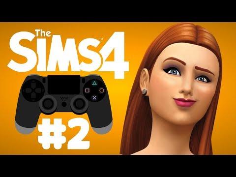 The Sims 4 GET TO WORK [PS4] Let's Play Part 2