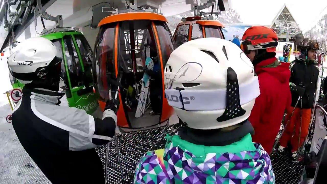 Narty ski w?ochy italy val di sole madonna di campiglio pejo 2016 - gopro hero 4