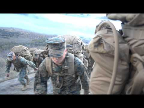 Marine Corps Hike on Camp Pendleton (4K)
