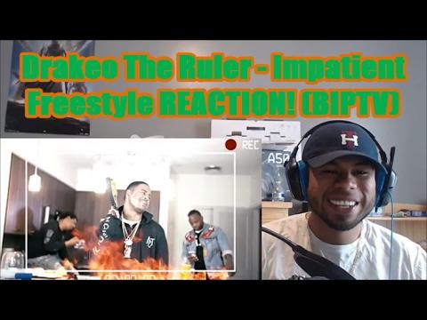 Drakeo The Ruler - Impatient Freestyle REACTION! (BIPTV)