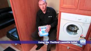 Thetford Cassette Toilet Demonstration - Ian Grant's Caravans