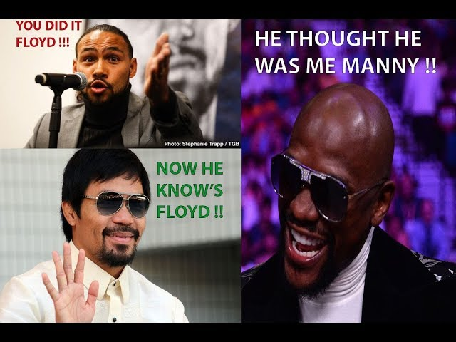 BREAKING NEWS: MAYWEATHER EPIC REACTION TO PACQUIAO DOMINATING THURMAN ! LEARNED THE HARD WAY