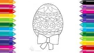 Draw color easter egg Ideas for easter drawings Easter egg designs