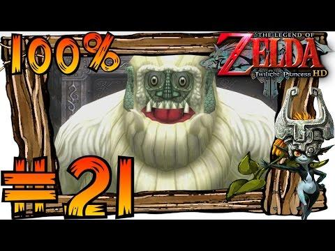 Zelda Twilight Princess HD Wii U 100% Walkthrough Part 21   Snowpeak Ruins & Boss Blizzeta