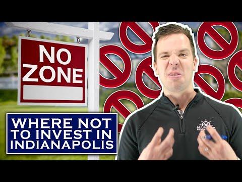 "Top 4 ""NO ZONES"" in Indianapolis Real Estate    Mainstay Basics"