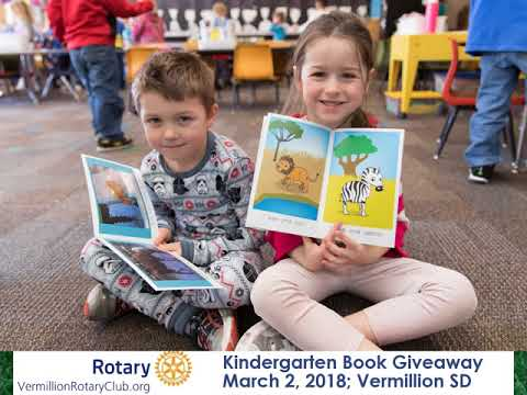 Vermillion Rotary Book Giveaway - March 2, 2018