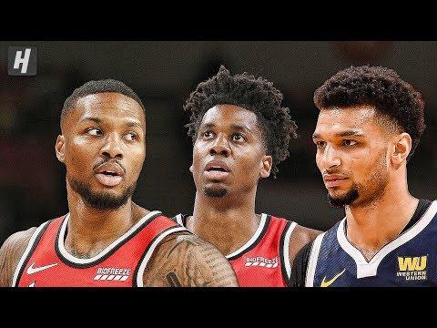 Denver Nuggets vs Portland Trail Blazers - Full  Highlights | October 8, 2019 | 2019 NBA Preseason