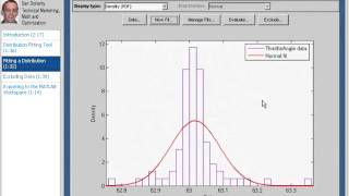 MATLAB Tutorial - 25 Working with Probability Distributions