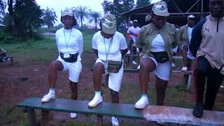 PHYSICAL TRAINING EXERCISE AT THE 2018 EDO STATE NYSC BATCH B STREAM 1 ORIENTATION COURSE