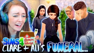 IT'S FUNERAL TIME... 😢 Plus Montage! (The Sims 4 #67!🏡)