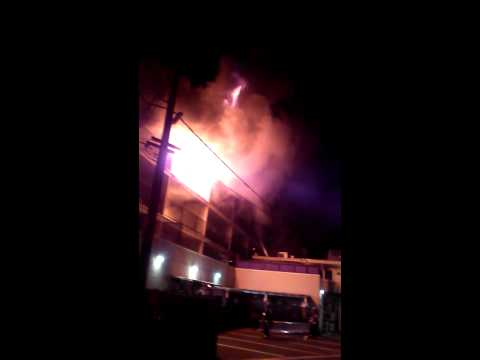 6 Alarm Fire Redwood City CA,