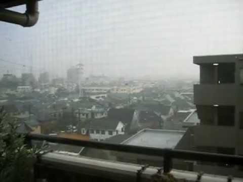 Thunder and Rain in Nakano-ku, Tokyo