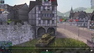 World of Tanks Blitz Super Pershing Good Battle или Гайд как играть на Перше