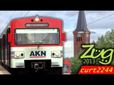 Zug2013/curt2244 | AKN Doku Teil 2 | Das Netz aus Tf-Perspektive